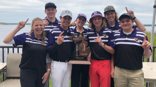 Golf Team Regional Champs