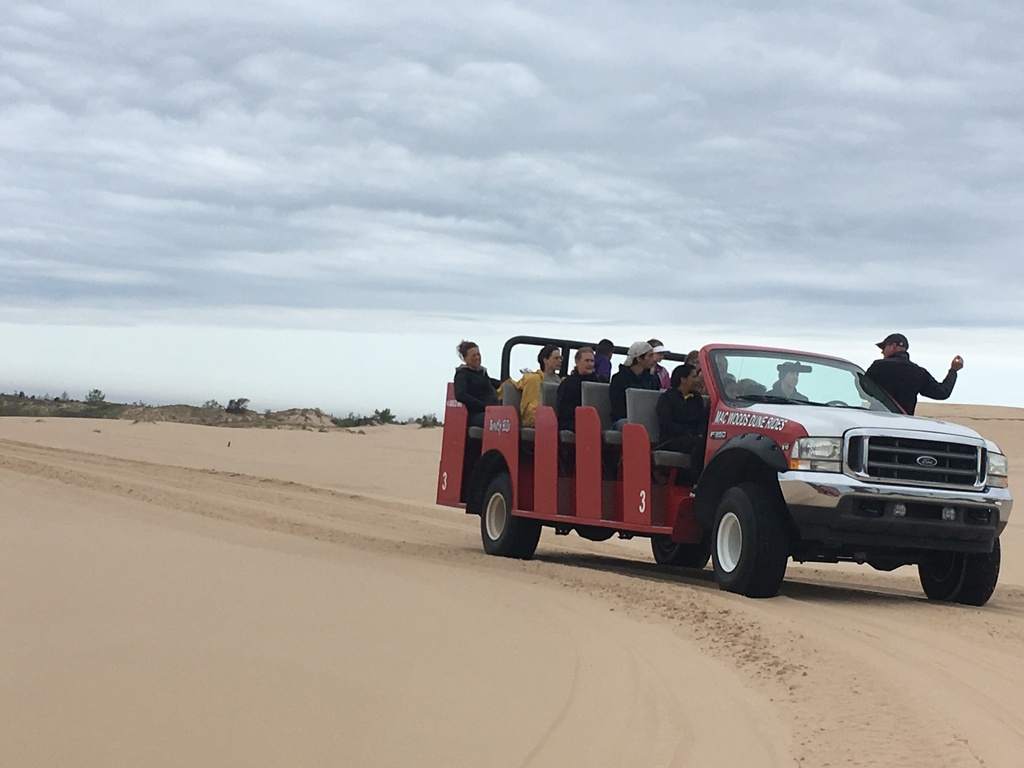 Mac Woods Dune ride fun