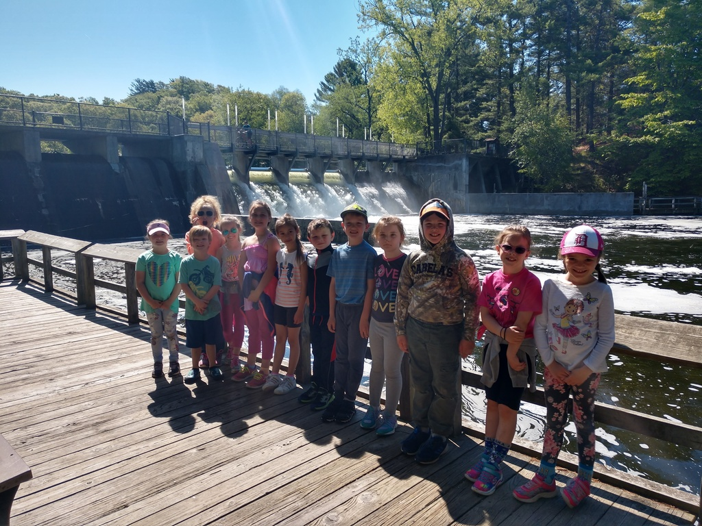 1st Grade class at Ludington State Park