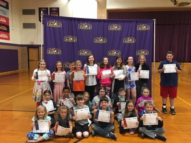 Elementary Young Author recognition