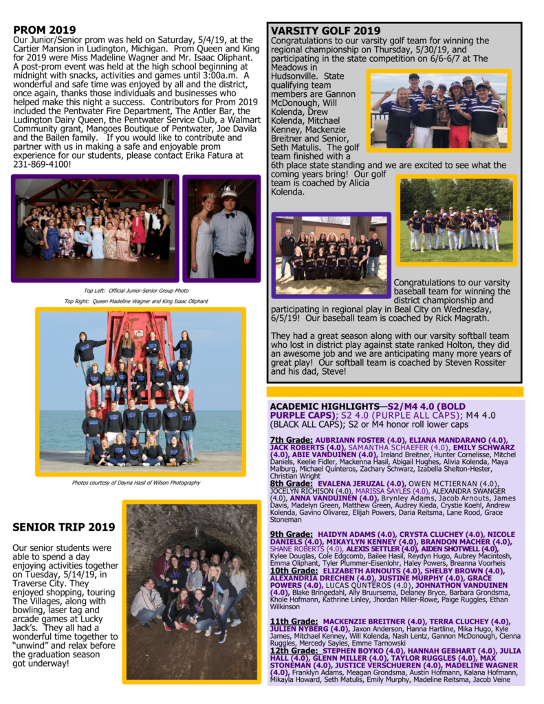 June 2019 Newsletter Page 2