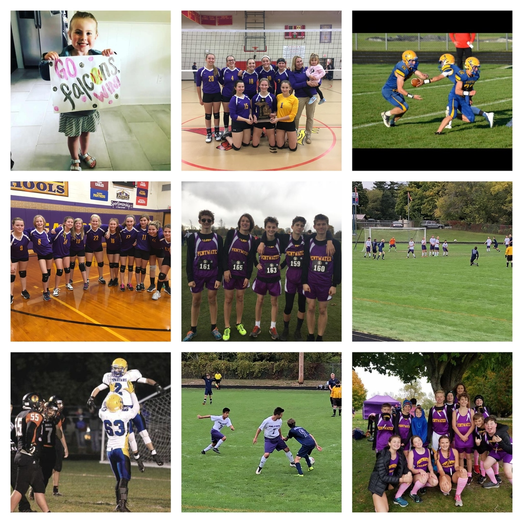Fall Sport Collage