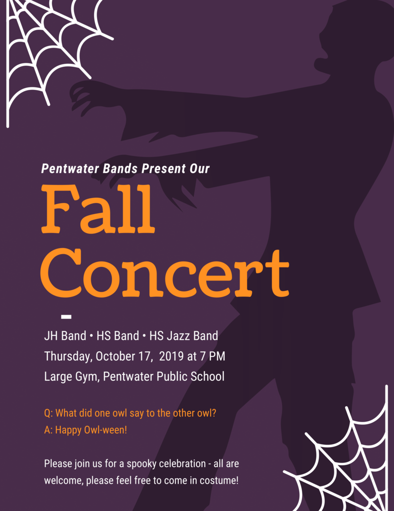 Fall Band Concert 2019