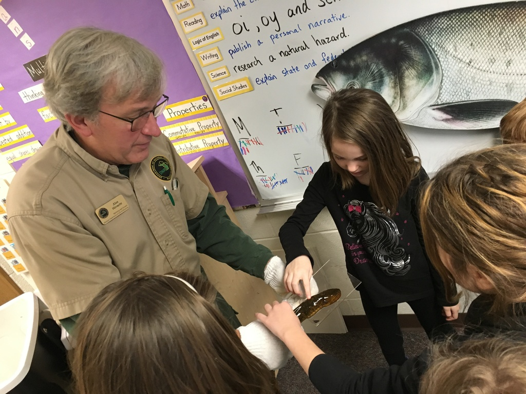 3rd grade learning about invasive species
