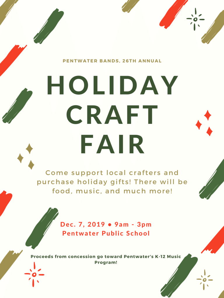 Pentwater Bands Annual Craft Fair